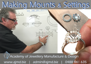 Learn how to make the mounts and setting you use to set your gemstones in