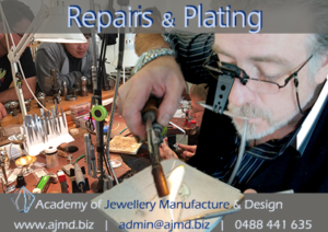 Jewellery repairs with Jacques Fabian