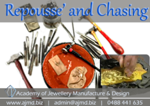 Repousse and chasing hand skills