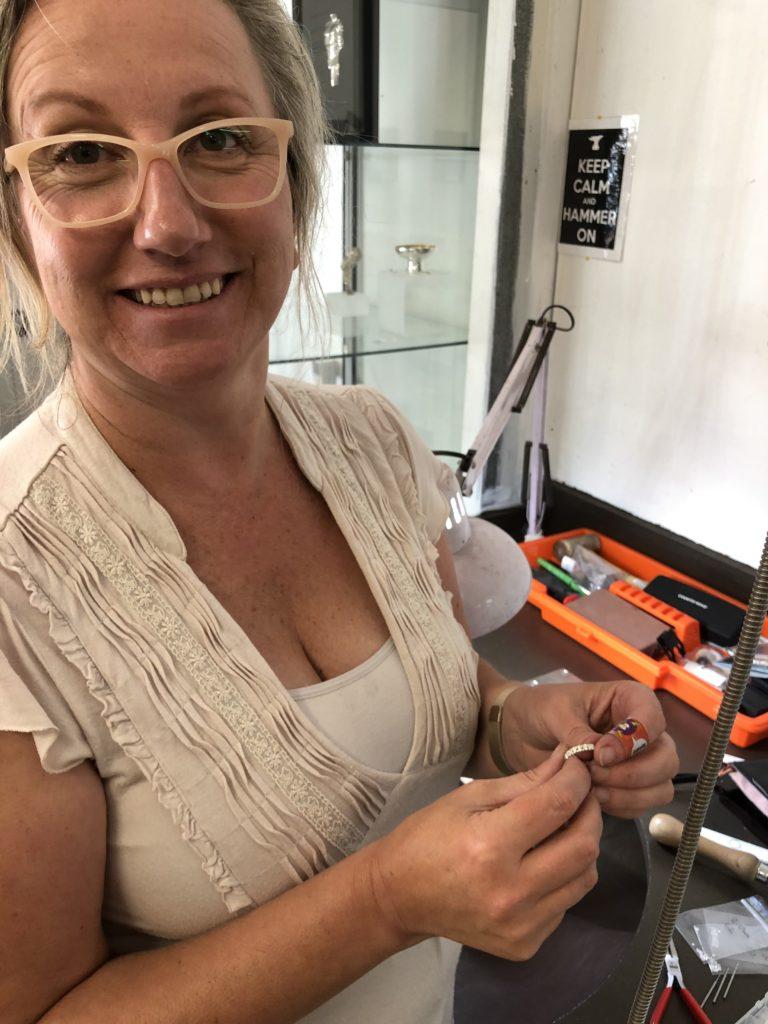 Leann Wenzel Jeweller in Training
