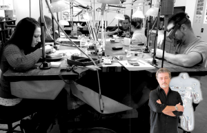 STUDIO41 is a Fully Equipped Private studio run by Master Silver and Goldsmith Jacques Fabian
